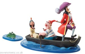 Captain Hook, Mr Smee, Tiger Lily and Crocodile: An Irresist