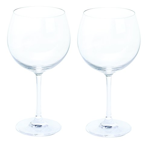 Wine and Bar Gin and Tonic Copa Pair Glasses