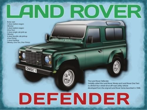Land Rover - Defender (Small)
