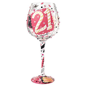 Superbling 21 Large Wine Glass
