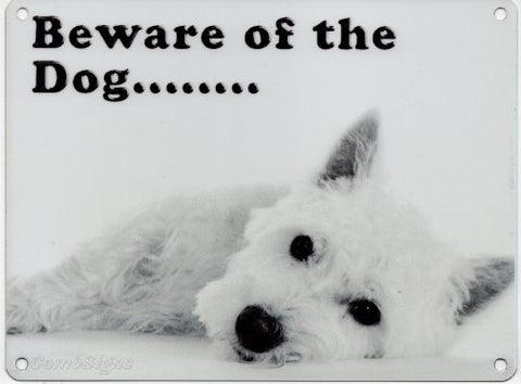 Beware of the Dog (Small)