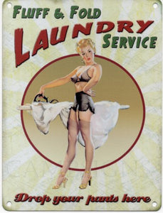 Fluff and Fold Laundry Service (Small)