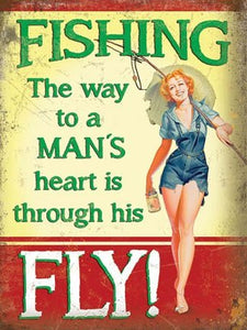 Fishing - the way to a man's heart (Small)