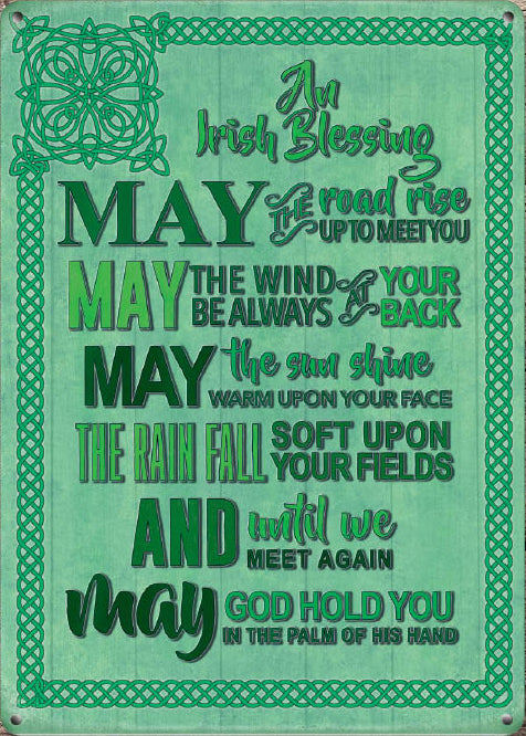 An Irish Blessing (Small)