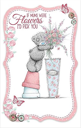 If mums were flowers I'd pick you - Mother's Day Card