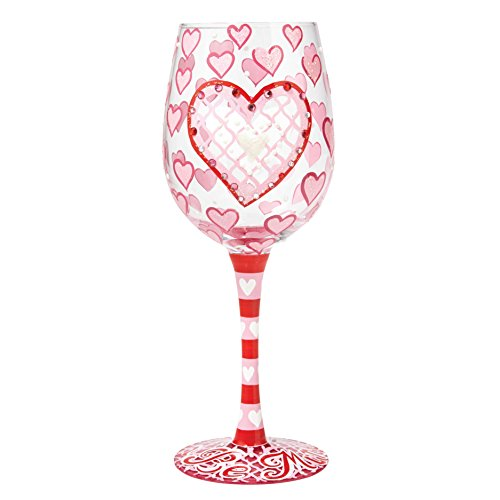 Be Mine Wine Glass