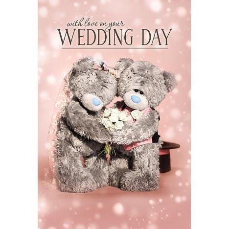 Wedding Day Card (3D Holographic)