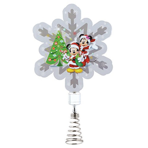 Mickey and Minnie Mouse Holidazzler - Tree Topper