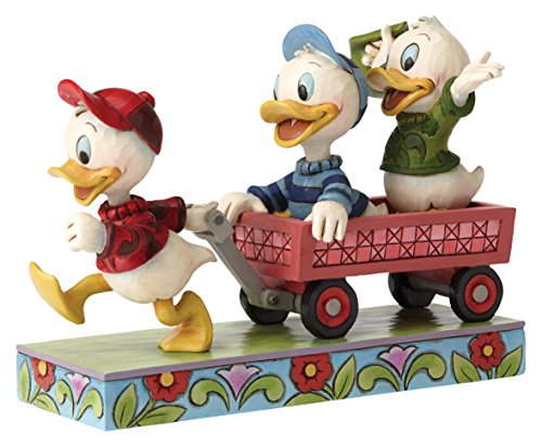 Here Comes Trouble - Huey Dewey and Louie On Wagon