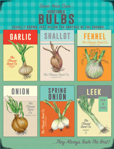 Grow your own Vegetable Bulbs (Small)
