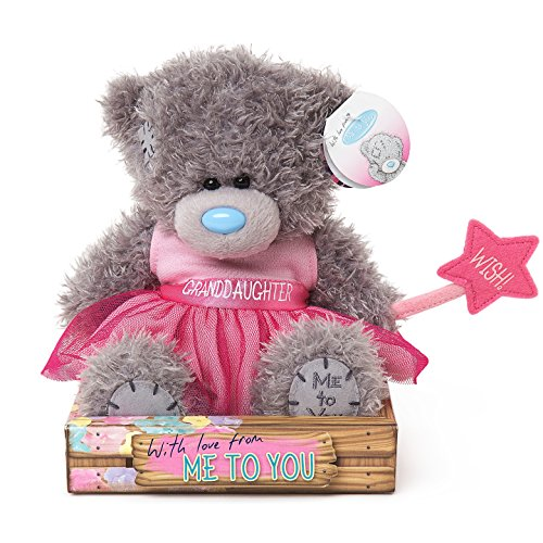 Granddaughter - Pink Dress - 6'' Bear