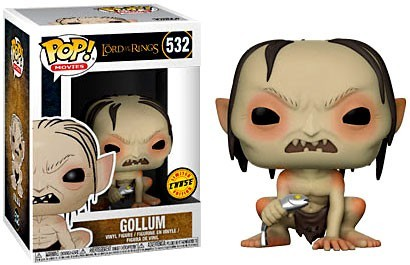 Lord of the Rings - Gollum #532 CHASE LIMITED EDITION
