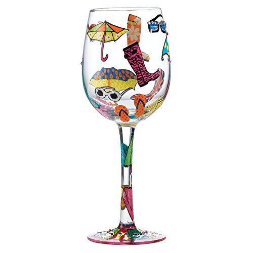Here Comes Summer Wine Glass