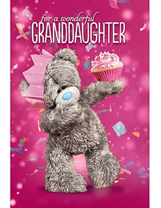 Granddaughter Birthday Card (3D Holographic)