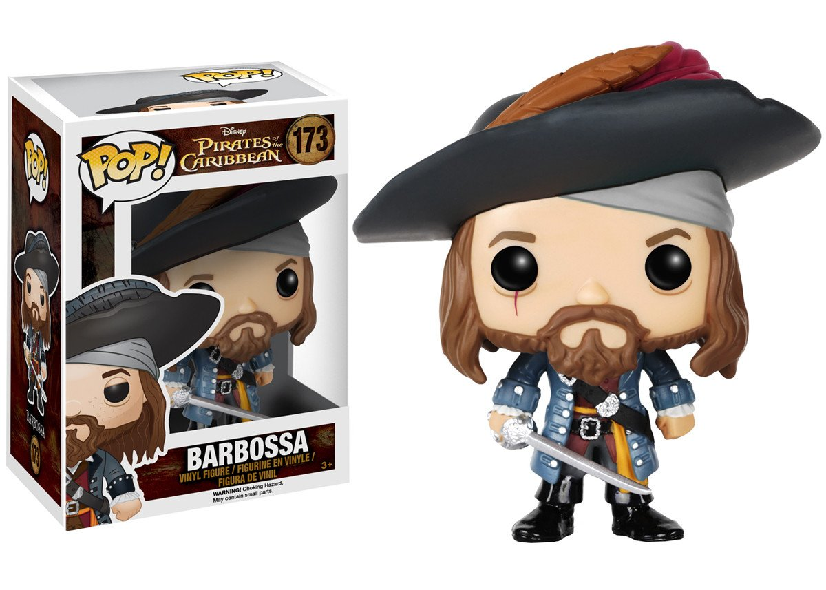 Pirates of the Caribbean - Barbossa #173