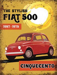 The Stylish Fiat 500 (Small)