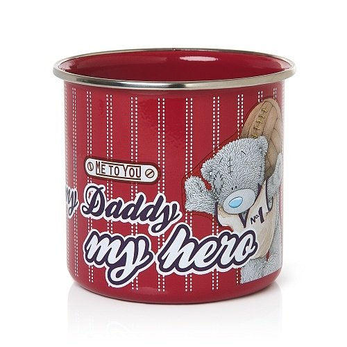 Hero Daddy Tin Mug