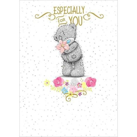 Bear with Flower - Blank Card