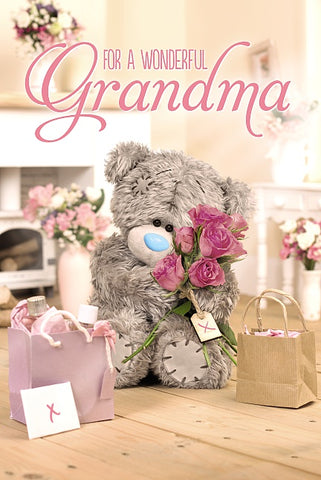 For a wonderful Grandma - Mother's Day Card