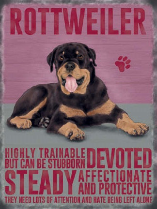 Rottweiler Rotty (Small)