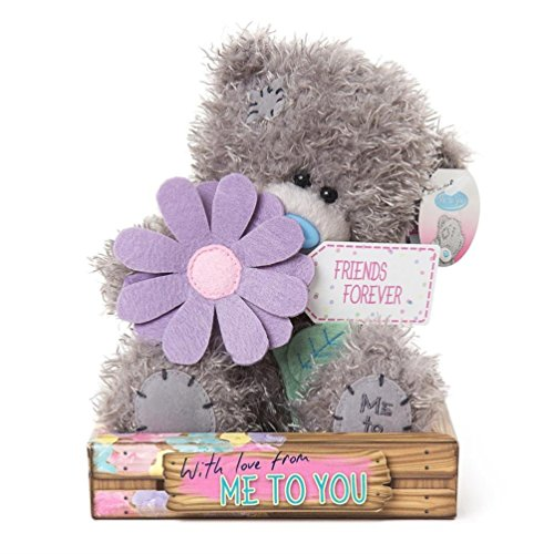 Friends Forever Flower - 7'' Bear