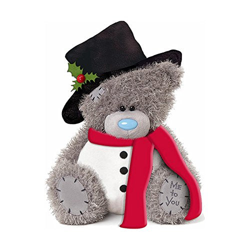 Teddy in Snowman Costume - 10'' Bear