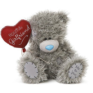 Beautiful Girlfriend Heart Balloon - 8'' Bear