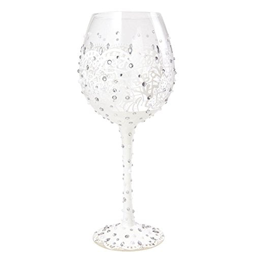 Superbling Bride Large Wine Glass