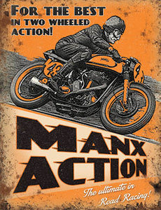 Motor Cycling - Manx Action (Small)