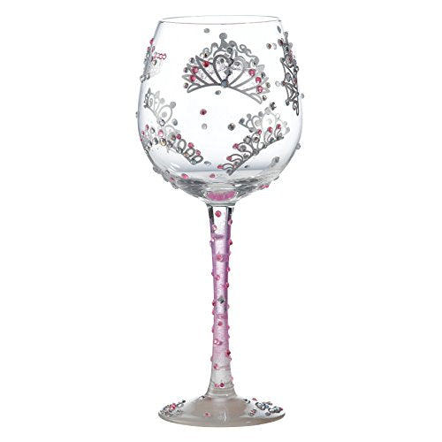 Superbling Princess Large Wine Glass