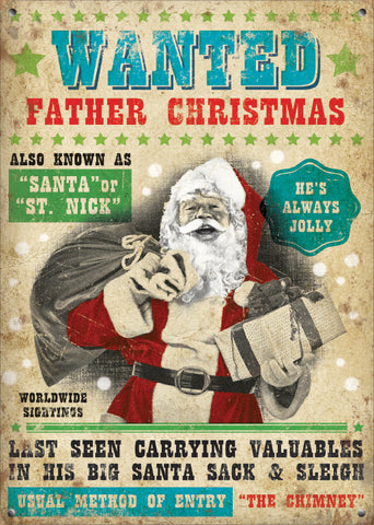 Wanted - Father Christmas (Small)
