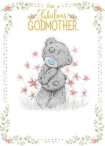 For a Fabulous Godmother - Mother's Day Card