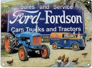 Ford and Fordson - Trucks and Tractors (Small)