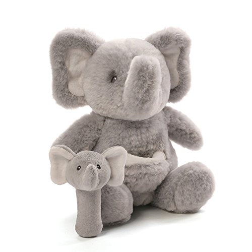 Elephant rattle toy