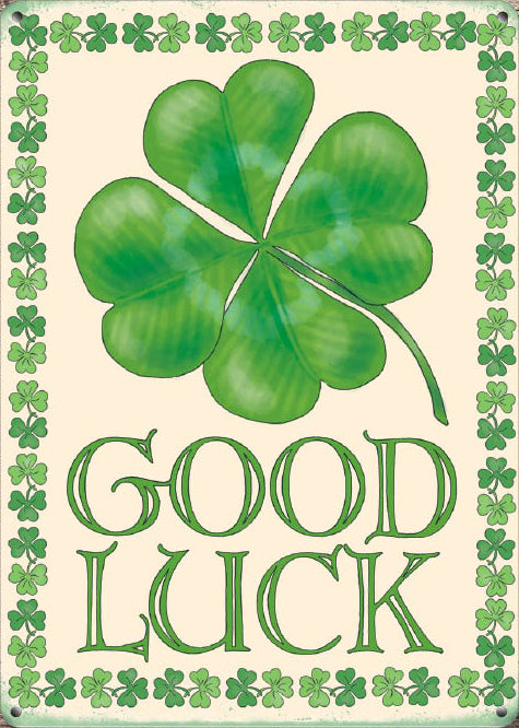 Good Luck - Four leaf clover (Small)