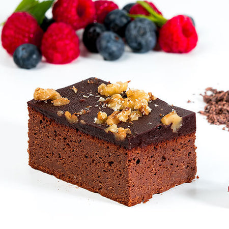 Protein Stevia Walnut Brownie