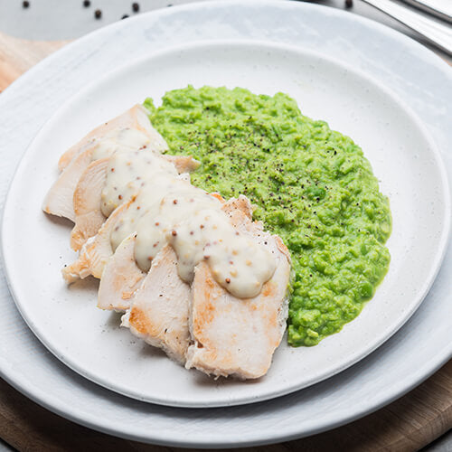 Chicken & Pea Mash