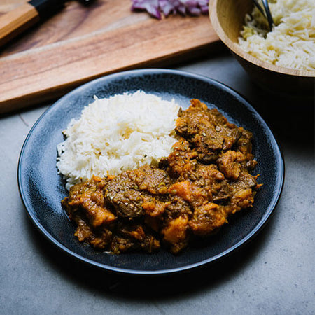 Vegan Beef Madras