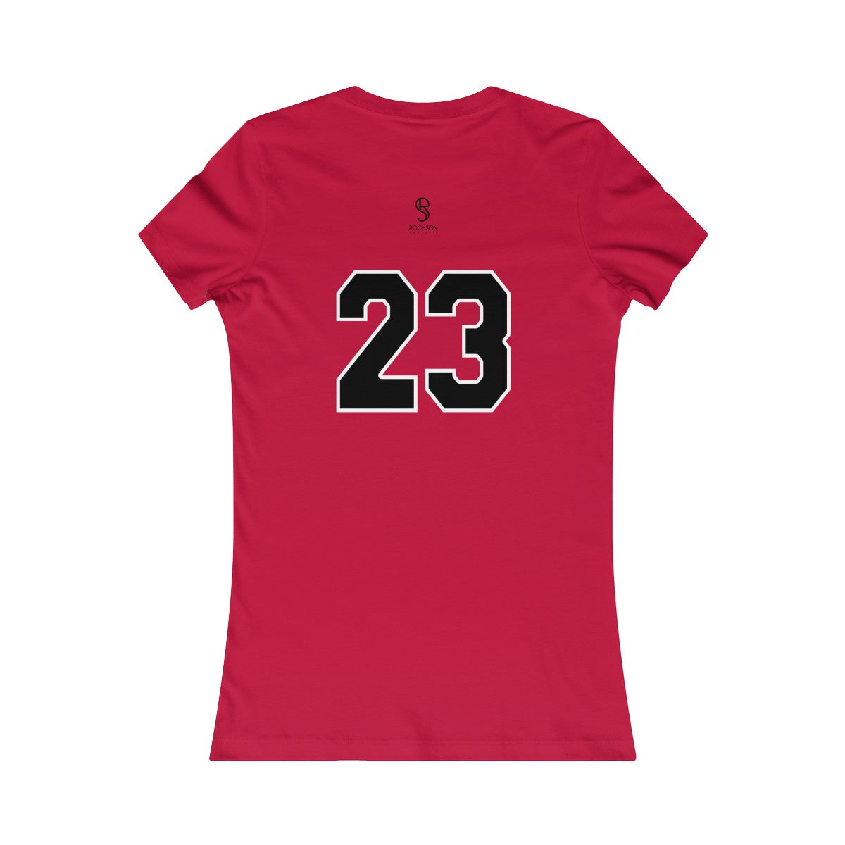 The 23's Tee-shirt femme rouge (Chicago Bulls)
