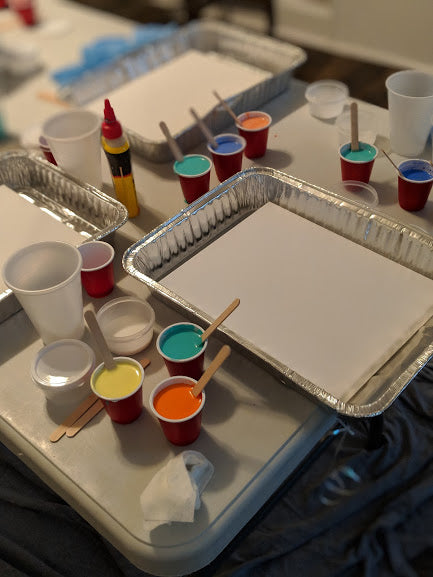 Private Paint Party ...Bring the paint party to you and your friends, family or co-workers