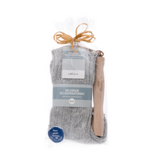 Finnish Wool Socks and BBQ fork Gift Set