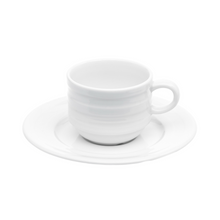 Set of 2 Espresso Cups and Saucers