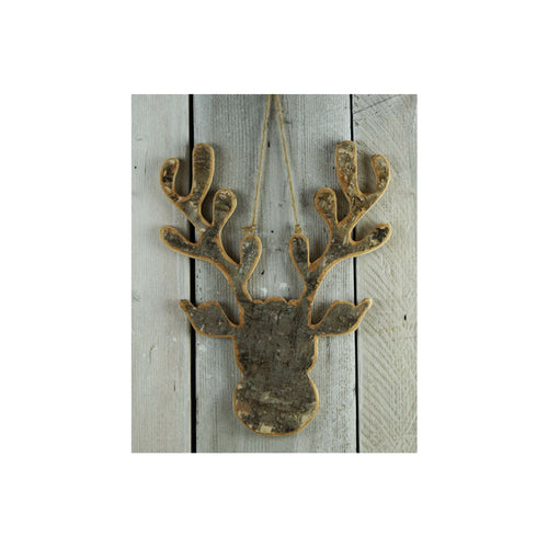 Nordic Bark Moose Head