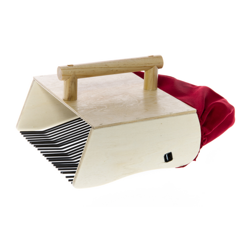 Wooden Berry Picker Pro with Metal Forks by Marjukka