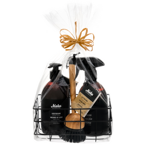 Maku Kitchen Cleaning Basket Gift Set