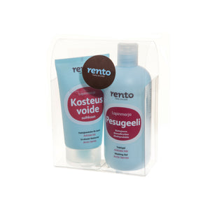 Gift Set In-Shower Arctic Berries Body Moisturiser + Shower Gel by Rento