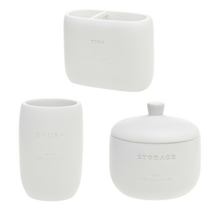 The White Collection - Bathroom Essentials