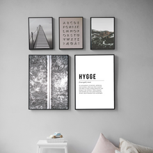 Nordic Print Dictionary Page Hygge