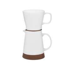 MAKU Duo Ceramic Coffee Jug & Filter Set