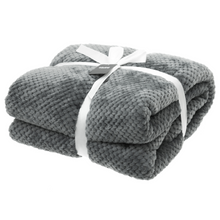 4LIVING Nordic Grey Throw Packaged